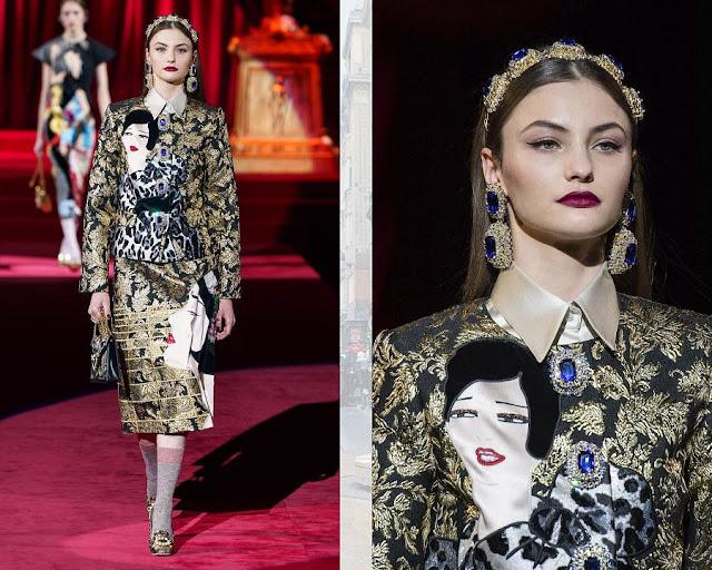 Dolce & Gabbana осень-зима 2019/2020 8