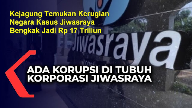 WADUH! Kerugian Negara Kasus Jiwasraya Bengkak Jadi Rp 17 Triliun, Jokowi Kaget Lagi?