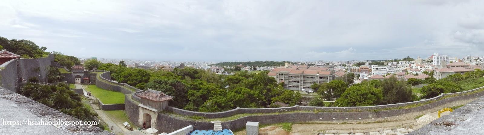 沖繩-景點-世界遺產-首里城-觀景-自由行-旅遊-旅行-Okinawa-Naha-Shuri-Castle