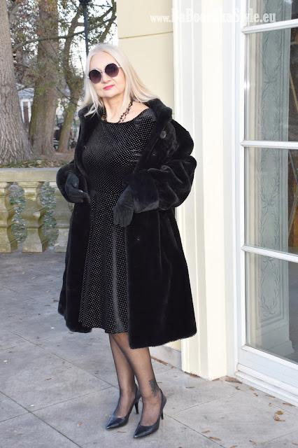 orsay, dress orsay, futro, alaska, jak ubrać się na wigilię, blogfahsion, blogerkamowa, over50plus, Babooshkastyle