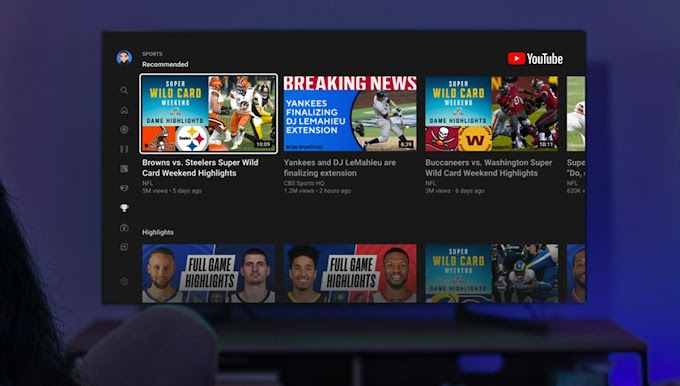 Youtube offers a new experience for sports fans