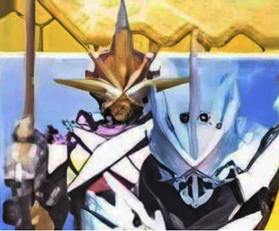 Kamen Rider Saber Primitive Dragon & Kamen Rider Saikou X Swordsman
