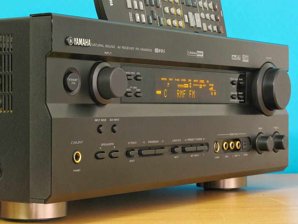 yamaha rx v640rds av receiver audiobaza. Black Bedroom Furniture Sets. Home Design Ideas