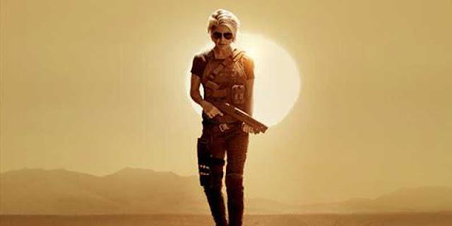 Linda Hamilton, tráiler, Terminator: Destino Oscuro