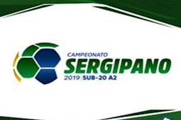 FSF divulga confrontos das quartas de final do Sergipão SUB-20 da Série A2