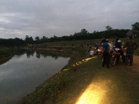 Quảng Ngãi Tìm thấy thi thể nam thanh niên đuối nước sau gần 1 ngày mất tích