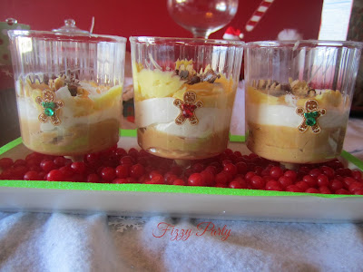 Elf Party, Christmas Party, Fizzy Party, Gingerbread Trifle, Jell-O