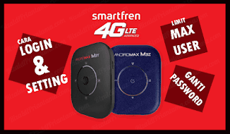 Cara Login Setting Mifi Smartfren 4G LTE Andromax M3Y M3Z