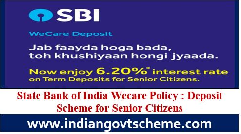 State Bank of India Wecare Policy