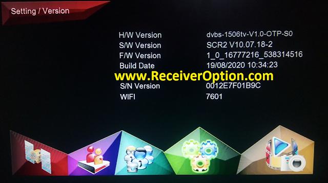 FERARRI 888 1506TV 512 4M NEW SOFTWARE WITH ECAST & SAFARI TV PRO OPTION