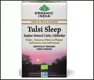 Ceai Tulsi Sleep cu Plante Relaxante pareri forum remedii pt somn
