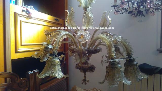 murano-chandelier-repairs
