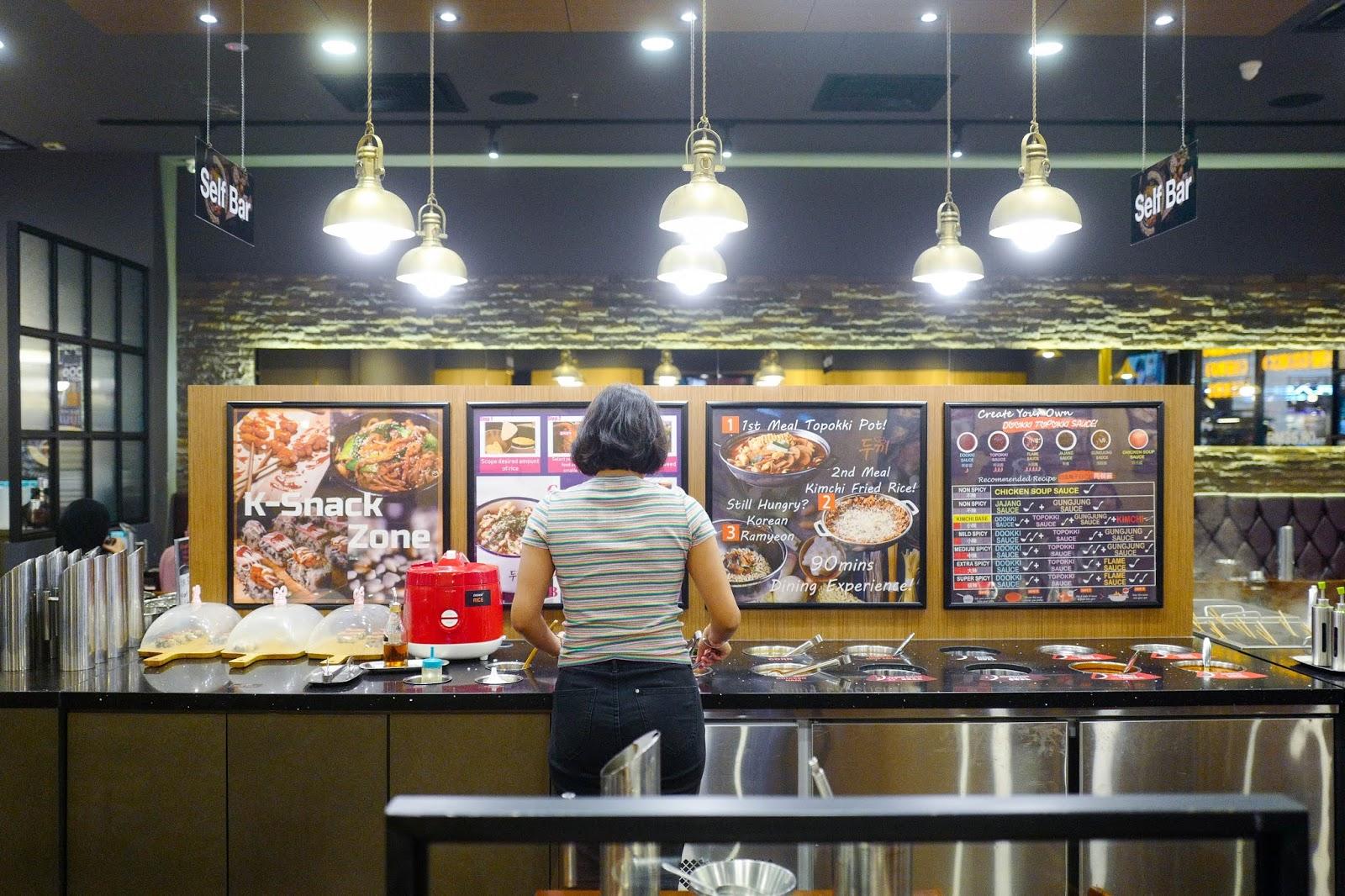dookki korean topokki buffet, ioi city mall putrajaya & r&f mall johor bahru