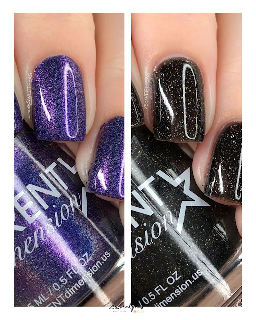 Different Dimensions July Rewind Polishes