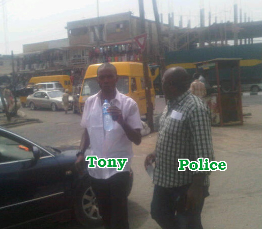 clearing agent arrested ikeja lagos