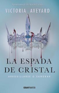 Resultado de imagen de LA ESPADA DE CRISTAL, DE VICTORIA AVEYARD