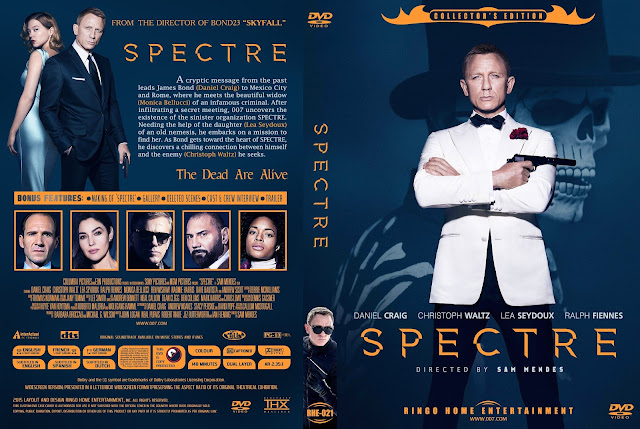 Capa DVD Spectre Collectors Edition