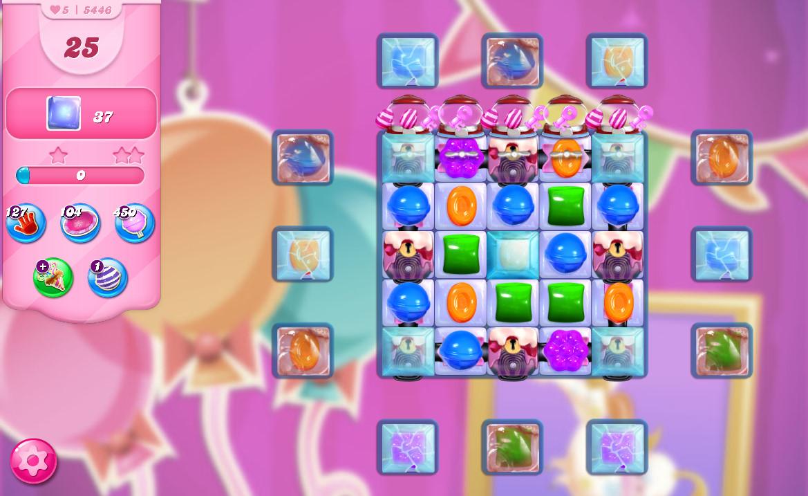 Candy Crush Saga level 5446