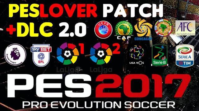 PES 2017 PESLover Patch DLC 2.0