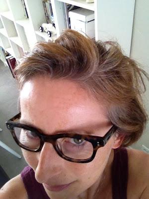 cheveux blancs 2 mois