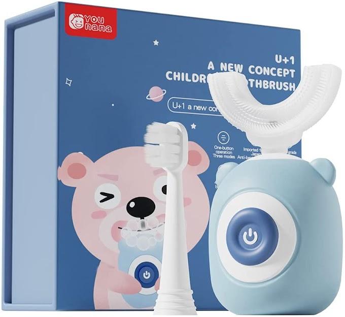 JOYIL: Cepillo de dientes eléctrico para niños de 2 a 12 años