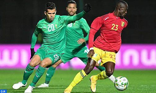 مباراة ودية.. المنتخب الوطني للاعبين المحليين يفوز على نظيره الغيني 2-1