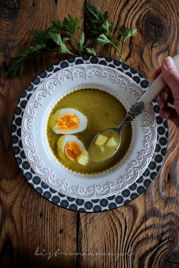 zupa ze szczawiu