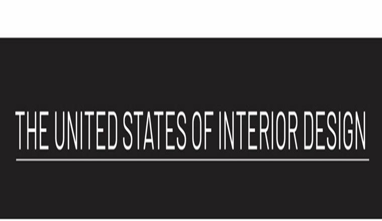 The United States of Interior Design #infographic