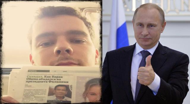 President Duterte's Sikat Na Rin Sa Russia Matapos Umani Nang Paghanga Mula Sa Isang Russian News Article. Galing!