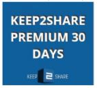 Updated || Keep2share Premium Account User and Password - July 2021