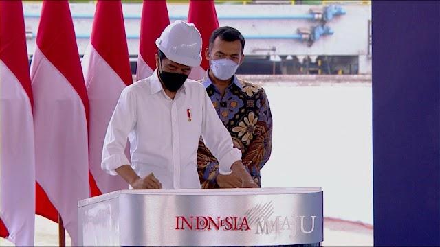 Presiden Resmikan Pabrik HSM2, CEO Krakatau Steel Berharap Industri Baja Nasional Maju