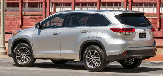 2019 Toyota Kluger Redesign