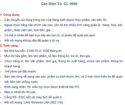 can6 in nhãn cas cl3000b 30kg chính hãng