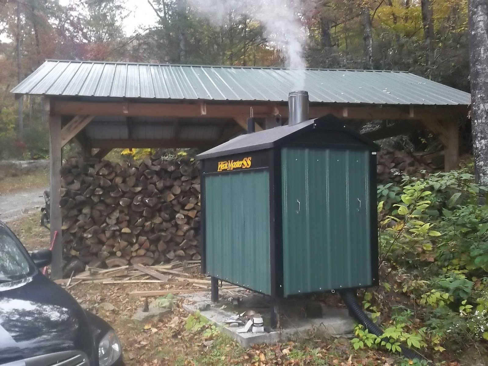 Homemade Wood Gasification Boiler
