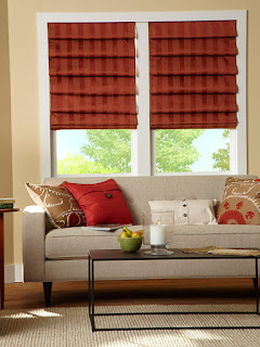 Made in the Shade can create elegant custom window treatments like Roman shades for your Prescott home.
