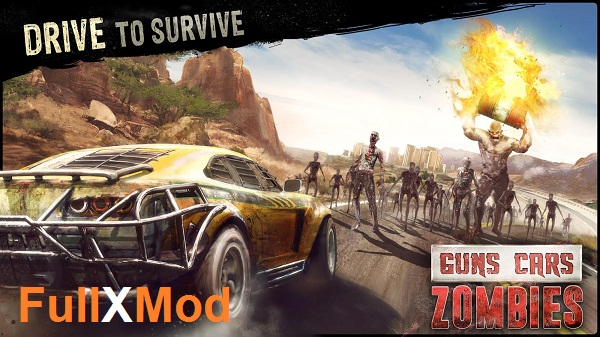 Guns Cars and Zombies Mod APK
