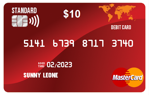Prepaid virtual card