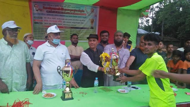 নাগরপুরে জিএস জাহিদ প্রীতি গোল্ডকাপ চূড়ান্ত প্রতিযোগীতা অনুষ্ঠিত