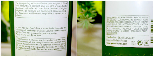 Yves Rocher Volume Hair Products Review