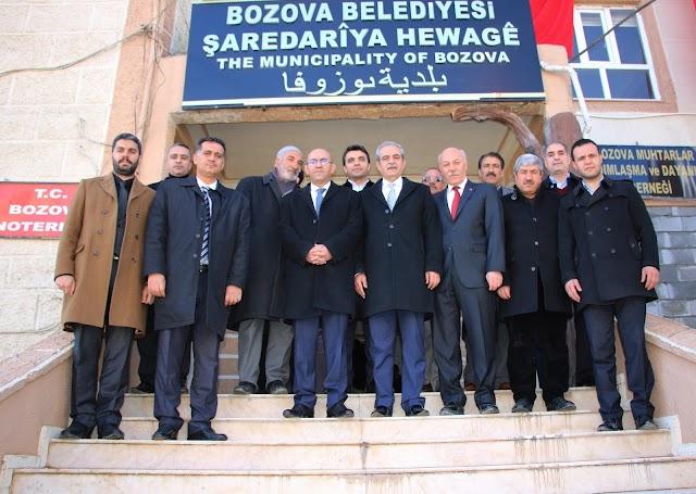 Başkan Demirkol'dan Bozova ziyareti