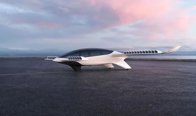 Lilium unveils its new electric plane