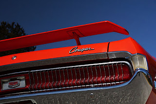 1969 Mercury Cougar Boss 302 Taillights
