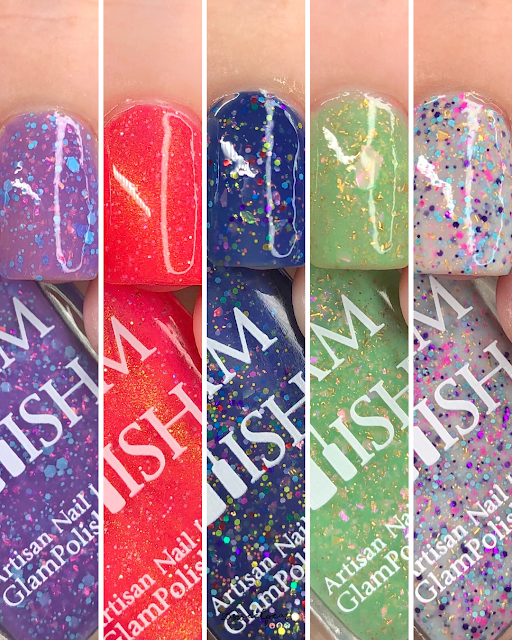 Glam Polish The Frog Prince Collection (Limited Edition)