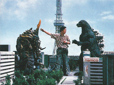Godzilla vs Mothra detrás de las cámaras