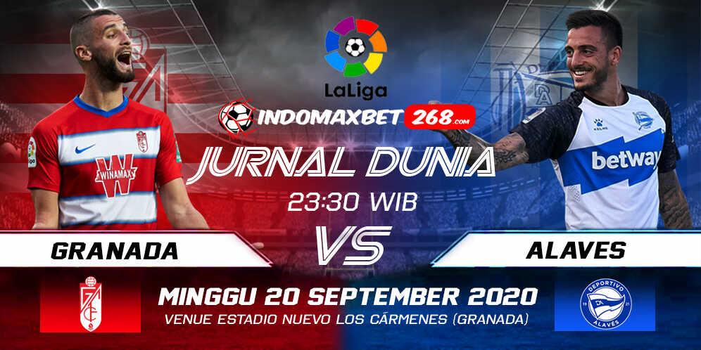 Prediksi Granada vs Deportivo Alaves 20 September 2020 Pukul 23:30 WIB