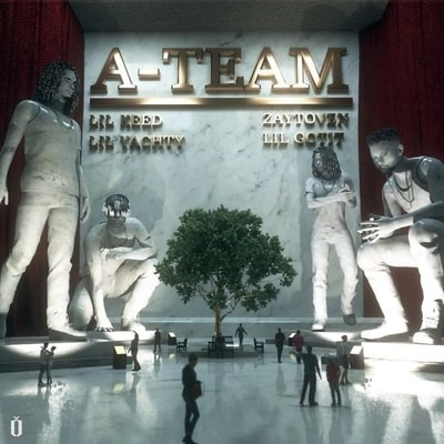 Zaytoven, Lil Yachty, Lil Keed & Lil Gotit - A-Team (You Ain't Safe) (2020) -  Album Download, Itunes Cover, Official Cover, Album CD Cover Art, Tracklist, 320KBPS, Zip album
