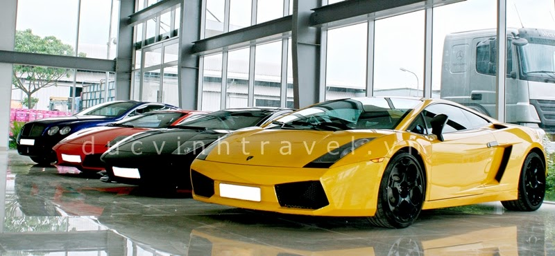 Cho thuê siêu xe cưới Lamborghini