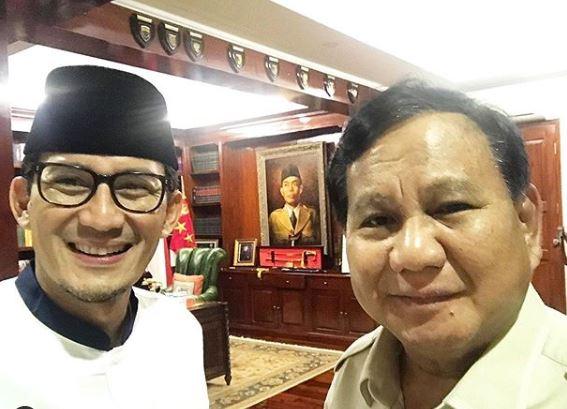Sandiaga Janji Dampingi Prabowo sampai Titik Darah Penghabisan