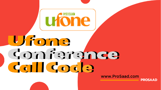 Ufone Conference Call Code 2021