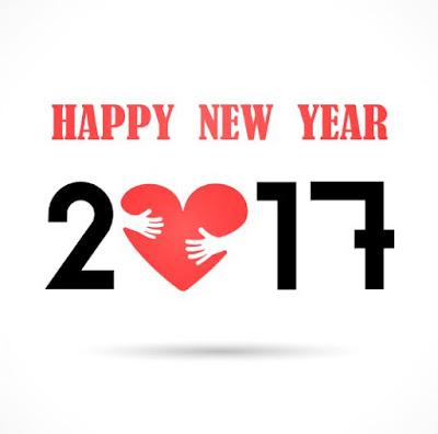 Gambar Selamat Tahun Baru 2017 Cinta Happy New Year Love Wallpaper HD